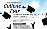 2018 Miami National College Fair